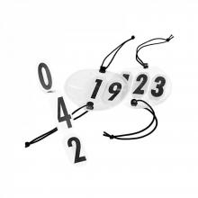 Horze Large Round Bridle Numbers - Imagen 1