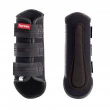 Horze Dark Reflective Safety Horse Boots - Imagen 1
