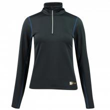 B Vertigo Roxane Women's Long Sleeve Zip Polo Shirt - Imagen 1