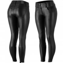 Horze Women's Knee Patch PU Leather Breeches - Imagen 1
