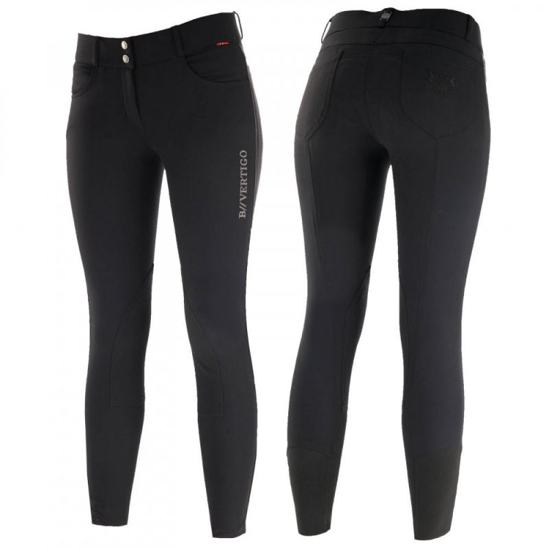 B Vertigo Kimberley Women's Self Knee Patch Breeches - Imagen 1