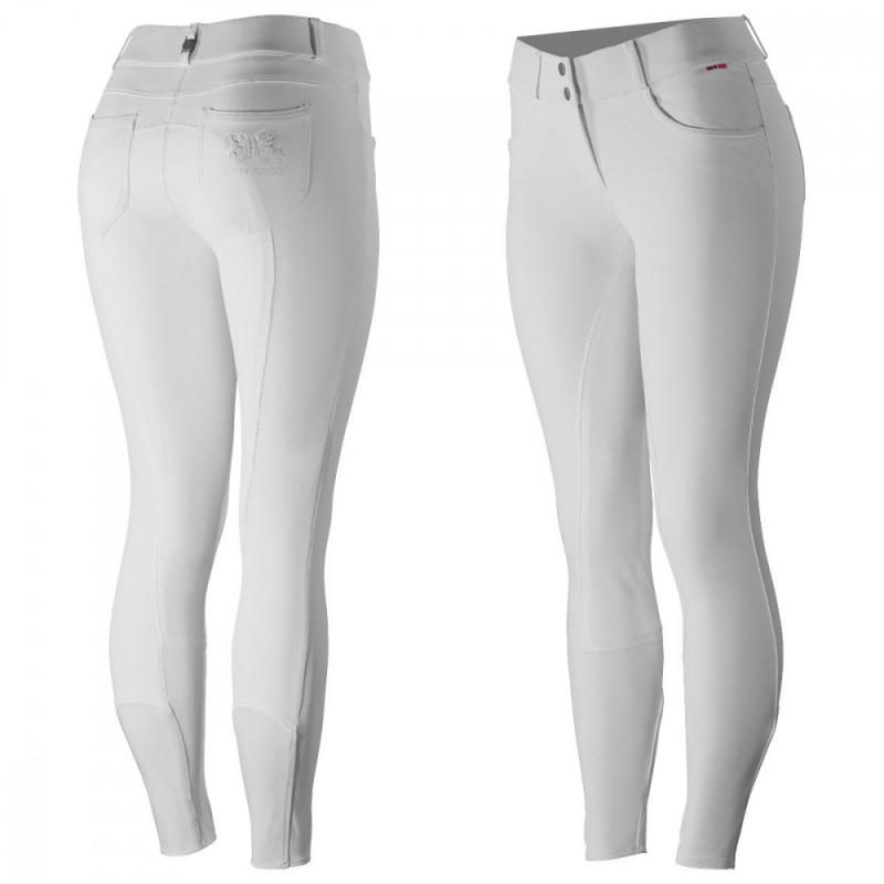 B Vertigo Kimberley Women's Show Leather  Full Seat Breeches - Imagen 1