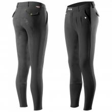 Horze Grand Prix Men's Silicone FS Breeches - Imagen 1