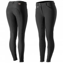 Horze Grand Prix Women's Leather Full-Seat Breeches - Imagen 1