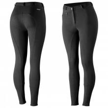 Horze Women's Active Silicone Grip Full Seat Breeches - Imagen 1