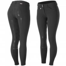 Horze Grand Prix Women & Junior Silicone Grip Full Seat Breeches - Imagen 1