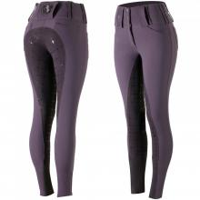 Horze Desiree Women's Leather Full Seat Breeches with Silicone - Imagen 1