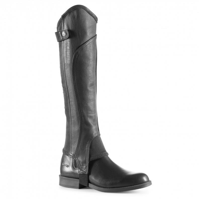 Horze Quinton Leather Half Chaps - Imagen 1