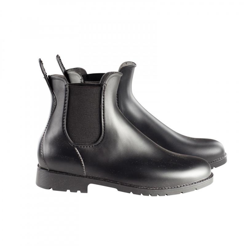 Horze Palermo Rubber Jodhpur Boots - Imagen 1