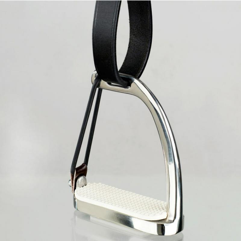 Horze Peacock Safety Stirrups with Rubber Donut - Imagen 1
