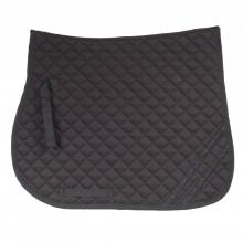 Horze Dark Reflective Safety GP Saddle Pad - Imagen 1