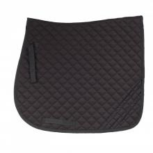 Horze Dark Reflective Safety Dressage Saddle Pad - Imagen 1