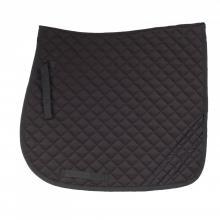 Horze Dark Reflective Safety Dressage Saddle Pad - Imagen 1