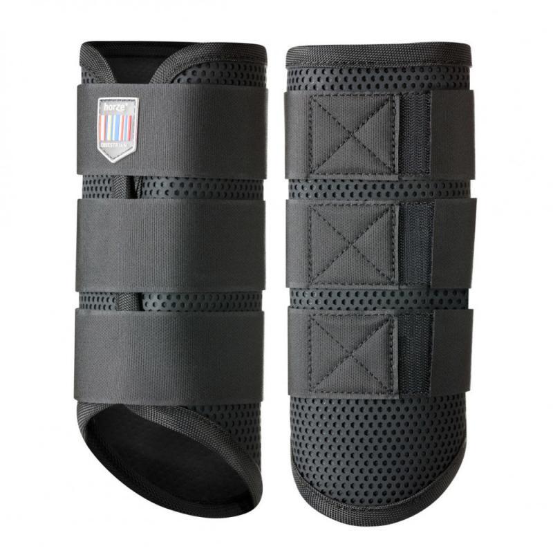 Horze Impact Flexi Strike-Guard Boots, HIND - Imagen 1