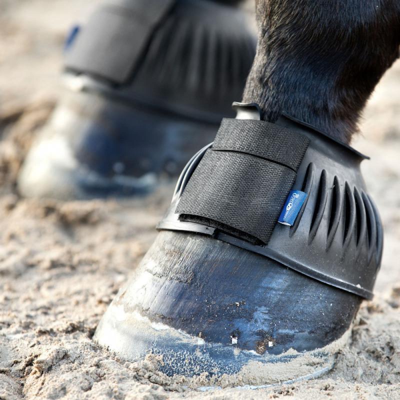 Horze Ribbed Bell Boots - Imagen 1
