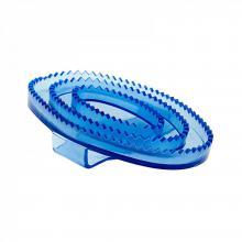 Horze Flexible Large Rubber Curry Comb - Imagen 1